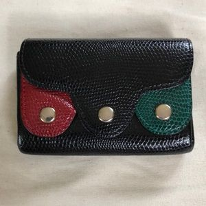 Accessories - Leather purse with 3 separate compartments.